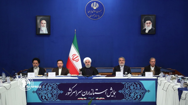Rouhani calls on governor-generals to visit those affected by recent incidents